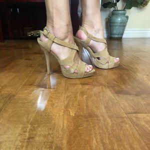 Charles David - Tan Heels Size 8.5